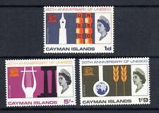 CAYMAN ISLANDS 1966   SG200/02   UNESCO    mnh um