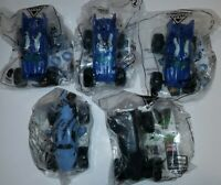 McDONALDS MONSTER JAM FIRE AND ICE HAPPY MEAL TOY LOT OF 5 NEW/SEALED