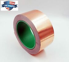 Copper Foil Tape - 2in x 28yds / 25m  -  EMI Conductive Adhesive