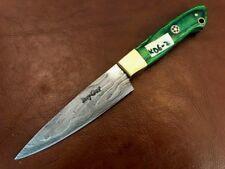 Handmade Pattern Welded Damascus Steel Chef Knife- Kitchen-Damast Stahl-Kd3