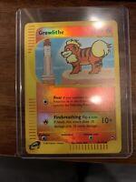 Pokemon Growlithe (2002 Aquapolis 84/147) - Reverse Holo Common