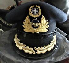 AMAZING VINTAGE GREEK HELLENIC AIR FORCE SUPREME OFFICER UNIFORM CAP