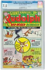 Rudolph, the Red-Nosed Reindeer #nn (DC, 1962) CGC VF- 7.5