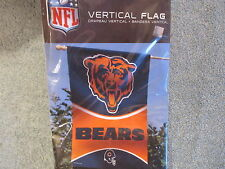 """Chicago Bears flag GRIZZLY football Vertical 27 x 37"""" banner Payton butkus New"""