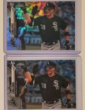 2020 TOPPS Chrome #87 ZACK COLLINS Refractor & Base RC Lot Chicago White Sox