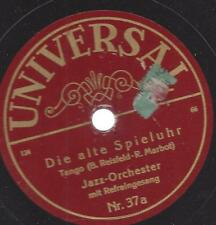 Eddy Walli Orchester mit Gesang Eric Helgar : Die alte Spieluhr - Tango