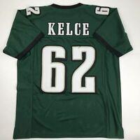 New JASON KELCE Philadelphia Green Custom Stitched Football Jersey Size Men's XL