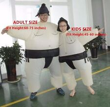 Funny Inflatable Sumo Wrestler Wrestling Suits Halloween Costume- Kids Size