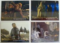 Lord of The Rings 4 NSU Promo Cards Movies P2 P1 P1 & P2 2001 To 2006 Topps NM+