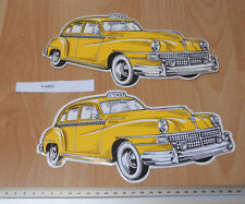 Taxi Chrysler Windsor shaped Post card & Sticker