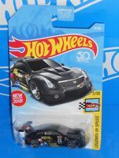 Hot Wheels New For 2018 Legends of Speed #70 '16 Cadillac ATS-V R Black