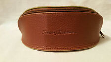 Tommy Bahama Brown Leather Jumbo Sun/Eye Glass Case