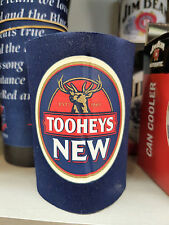 TOOHEYS NEW Beer Stubby Can Bottle Cooler Holder Mancave Fathers Day Xmas Gift