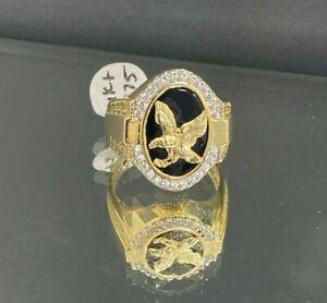 Mens 14k Yellow Gold Ring