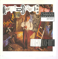 """DAVID BOWIE """"Day-In Day-Out"""" rote 7"""" Vinyl Single Box Ltd numbered"""