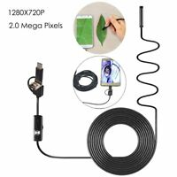 1M/2M/3.5M/5M Android Endoscope USB Waterproof Borescope Inspection Camera 8mm
