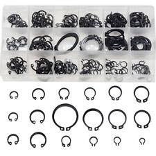 225Pcs Internal & External Snap Retaining Ring Circlip Assortment Set 18 Sizes