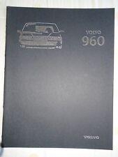 Volvo 960 range brochure 1996 German text