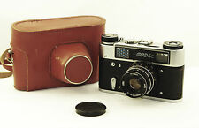 FED-5C Russian 35mm Camera LEICA copy w/ case Industar 61 L/D LD M39 GOOD