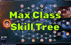 Outriders Max Class Skill Tree - Modded - PS4/PS5/Xbox