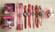 Lot Of 9 Hello Kitty Watches