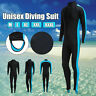 Mens Women Full Body Wetsuit Diving Scuba Elasticity Surfing Snorkeling-Wet N4X2