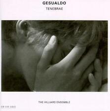 NEW Gesualdo: Tenebrae (Complete Responsoria) - Hilliard Ensemble (2 CDs 1994)