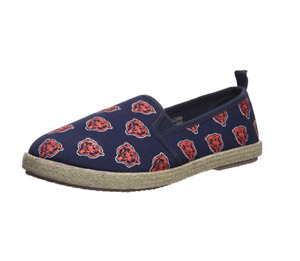 Forever Collectibles NFL Women's Chicago Bears Espadrille Canvas Shoe