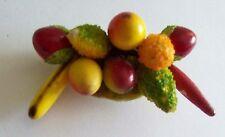Colorful Vintage Millinary Fruit Shoe Buckle