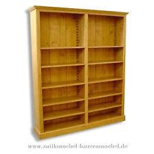 Bücherregal,Bibliothek,Holzregal,Regal,Regalwand,Massivholz,Weichholzmöbel