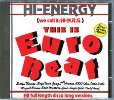 THIS IS EURO BEAT (WE CALL IT HI-N.R.G.) CD ALBUM COMPILATION 1989 [874]