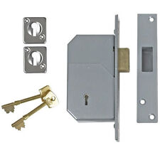 Union 3G110 Chubb Mortice 5 Detainer Deadlock High Security Replacement BS3621