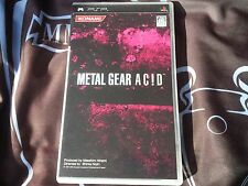 Metal Gear Ac! D (PlayStation Portable/PSP)