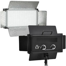 500 LED Light Panel Kit Photography Video Studio Lighting Dimmer Mount Photo