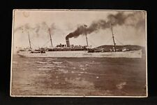 Hawaii: Honolulu 1907 #300b Booklet Pane Pair USAT Thomas Ship Postcard