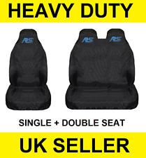 RS Van Seat Covers Protectors 2+1 WATERPROOF Heavy duty  Ford Transit MK8 CUSTOM