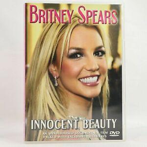 Britney Spears Innocent Beauty Documentary Music DVD R0 Good Condition