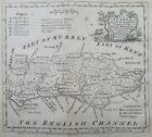 Sussex Antique Map 1759 Emanuel Bowen & Owen Rapes Chichester Petworth Cuckfield
