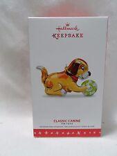 2016 Hallmark Keepsake Ornament Classic Canine Tin Toys #3 B6