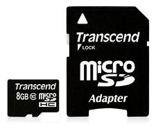 Transcend SanDisk microSDHC 8 GB Class 10 - MicroSDHC Card - (TS8GUSDHC10)