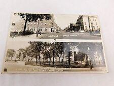 Vintage RPPC Ojibway & Park Hotels, Sault Ste. Marie, MI Real Photo Postcard P31