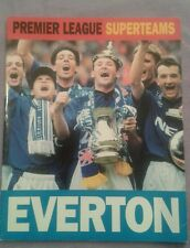 Everton FC Premier League Superteams - 1995 Carlton book