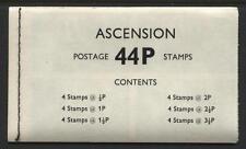 Ascension - 1971 - Booklet - SG# SB2 - SG CV £23