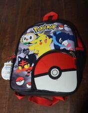 Pokemon Backpack carry Book Bag Pichaku Litten Rowlet Popplio