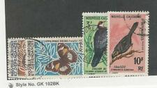 New Caledonia, Postage Stamp, #359-360, 363, 366 Used, 1967 Butterfly Bird