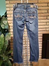 Seven 7 Blue Jeans Womens Size 27 Low Rise Boot Cut