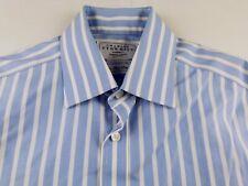 KL335 CHARLES TYRWHITT not iron slim fit cufflink shirt size 15-33, as unworn!