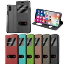 Cover for LG View Case Double Window Stand Wallet Book Flip