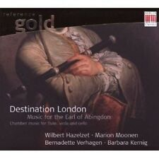 HAZELZET/MOONEN/VERHAGEN/KERNIG - DESTINATION LONDON  CD NEU