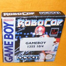 VINTAGE 1991 NINTENDO GAME BOY COMPACT VIDEO GAME SYSTEM ROBOCOP PAL BOXED